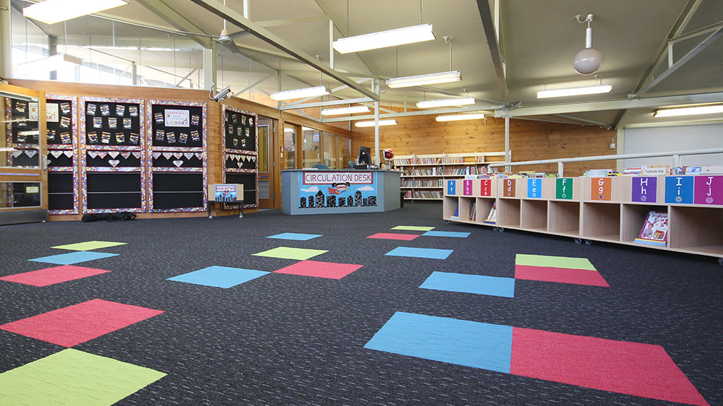 Bonnyrigg Public School Library Intercraft Flooring Group
