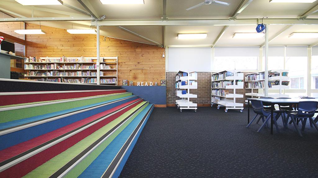 Bonnyrigg Public School Library Intercraft Flooring Group
